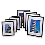 Black Wood Frames (Set of 4)