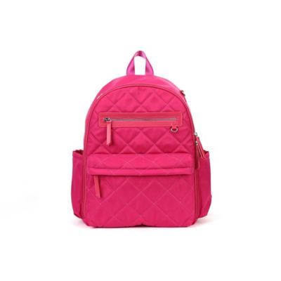 7f36678559cf 858042003950 UPC - Perry Mackin Paris Diaper Backpack In Fuchsia ...