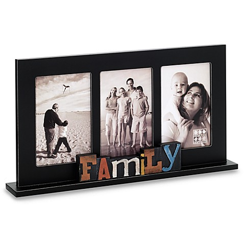 Buy Sixtrees Family Free Standing Collage Frame From Bed