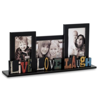 Sixtrees Live, Love, Laugh Free Standing Collage Frame