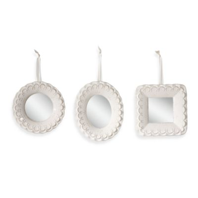 Ceramic Mirrors (Set of 3)