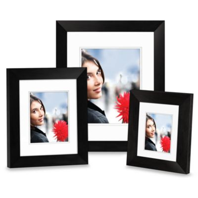 Nielsen Bainbridge Black Wood 8-Inch x 10-Inch Photo Frame