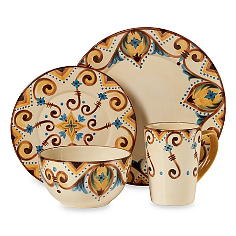 Misto Marques Dinnerware 4-Piece Place Setting