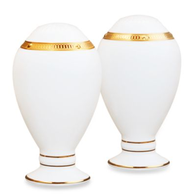 Noritake® Rochelle Gold Salt and Pepper Shakers