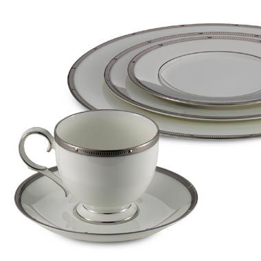 Noritake® Rochelle 5-Piece Place Setting in Platinum