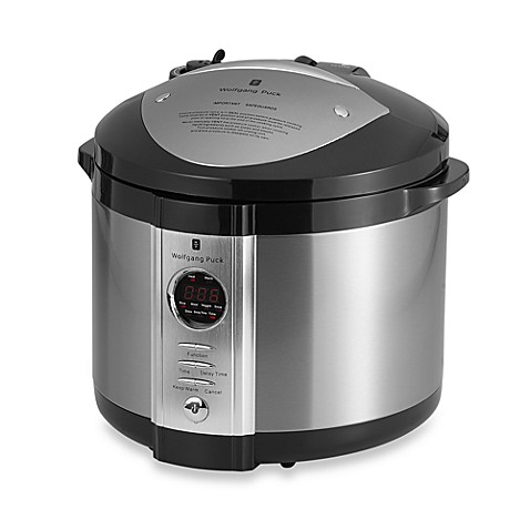Wolfgang puck 5 quart pressure cooker bed bath beyond for Wolfgang puck pressure oven