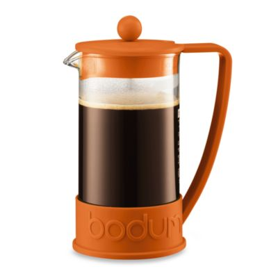 Bodum Brazil 8-Cup French Press Coffee Maker - Orange - Bed Bath & Beyond