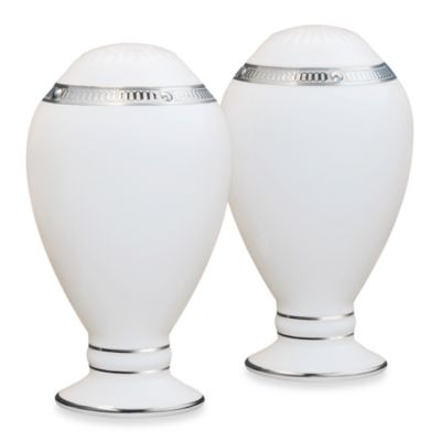 Noritake® Rochelle Platinum Salt and Pepper Shakers