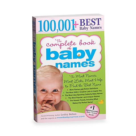 100,001 Best Baby Names in The Complete Book of Baby Names