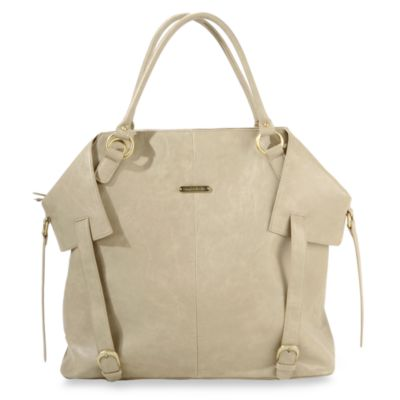 timi & leslie® Charlie Convertible Diaper Bag in Tan
