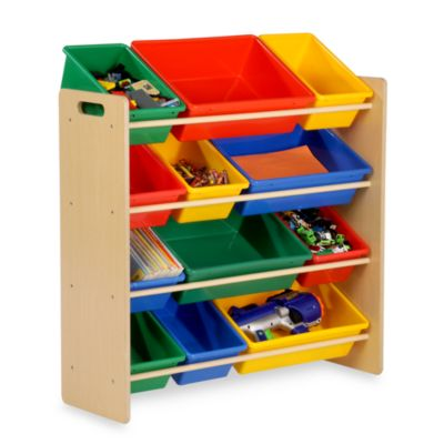 Organic Kids Toy Storage Bins