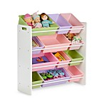 Honey-Can-Do Kids Toy Organizer and Storage Bins in Pastel