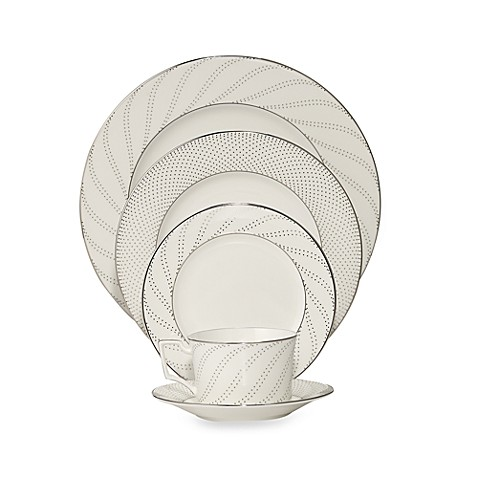 Noritake® Platinum Waltz 5-Piece Place Setting