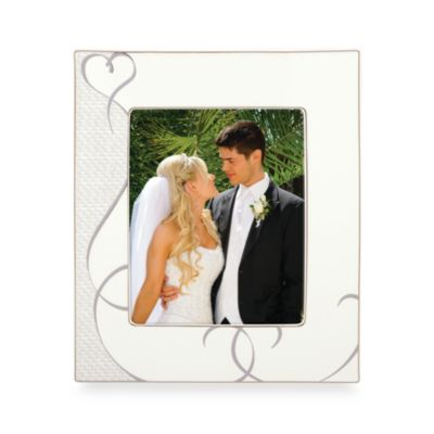 Lenox® True Love 8-Inch x 10-Inch Porcelain Photo Frame