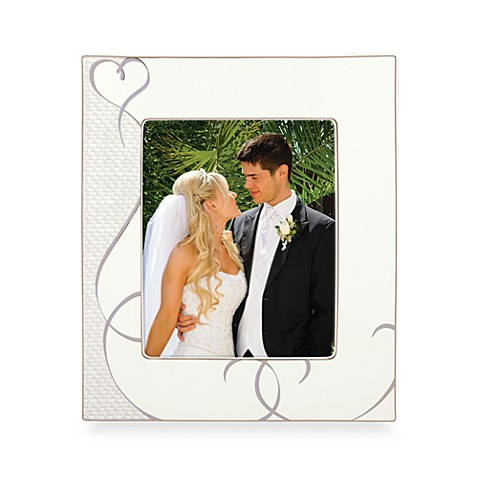 Lenox 174 True Love 8 Inch X 10 Inch Porcelain Photo Frame