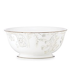 Marchesa by Lenox® Paisley Bloom 8 1/2-Inch Serving Bowl