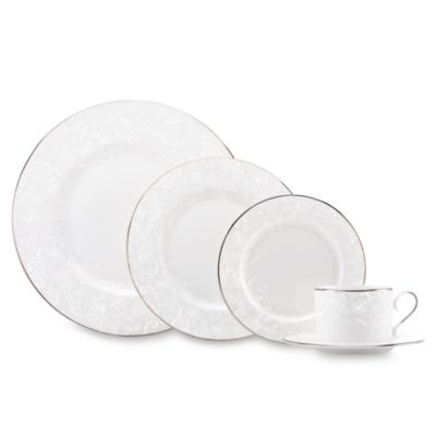 Marchesa by Lenox® Porcelain Lace 5-Piece Place Setting