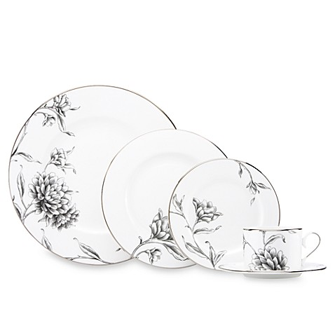 Marchesa by Lenox® Floral Illustrations 5-Piece Place Setting