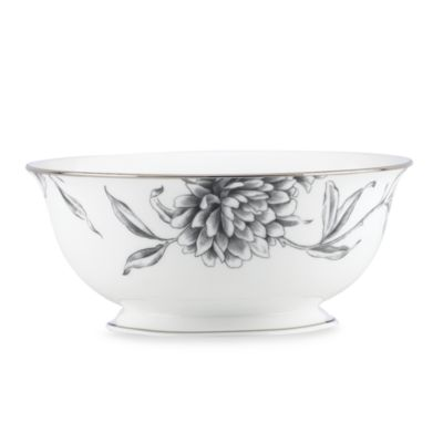 Marchesa by Lenox® Floral Illustrations 8 1/2-Inch Serving Bowl