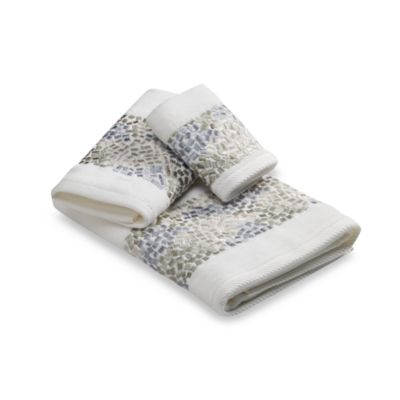 Croscill® Spa Tile Hand Towel