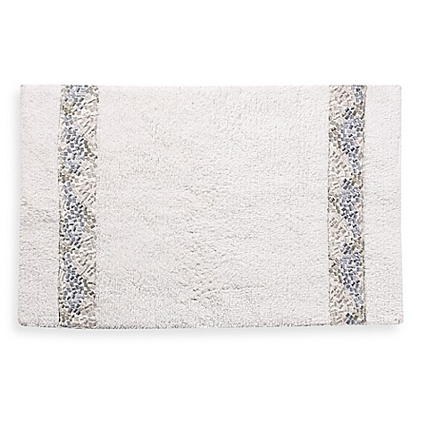 Croscill 174 Spa Tile 30 Inch X 20 Inch Bath Rug Bed Bath