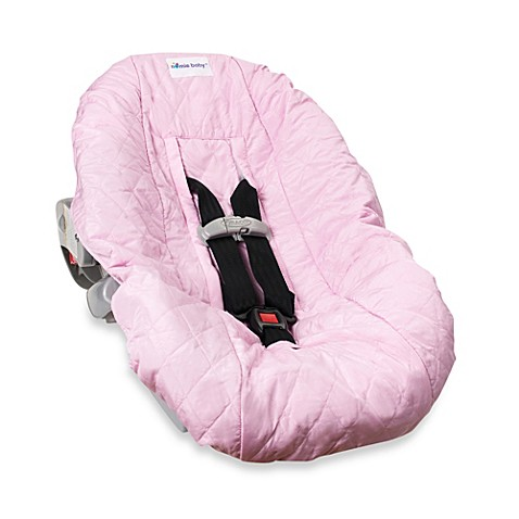 Nomie Baby® Infant Car Seat Cover in Pink