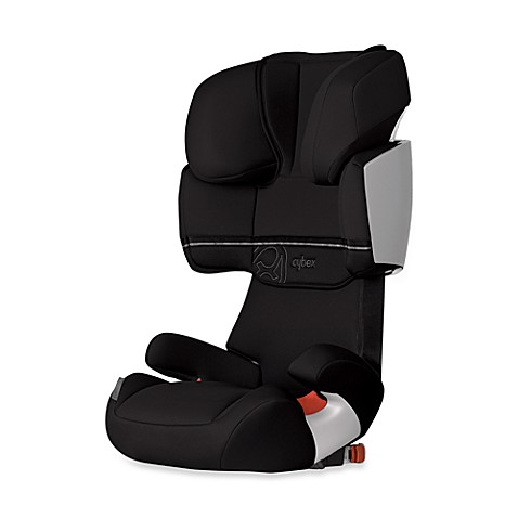 cybex solution x fix high back booster car seat in raven bed bath beyond. Black Bedroom Furniture Sets. Home Design Ideas