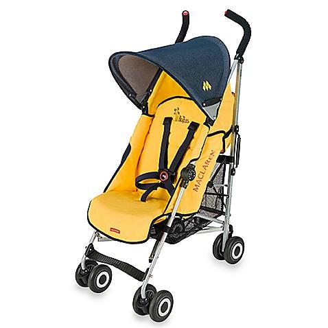maclaren the beatles yellow submarine quest stroller yellow denim bed bath beyond. Black Bedroom Furniture Sets. Home Design Ideas