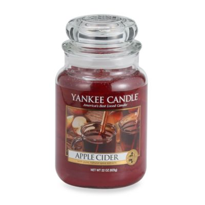 Yankee Candle® Housewarmer® Apple Cider Large Classic Jar Candle