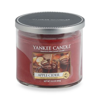 Yankee Candle® Apple Cider Medium Lidded Tumbler Candle