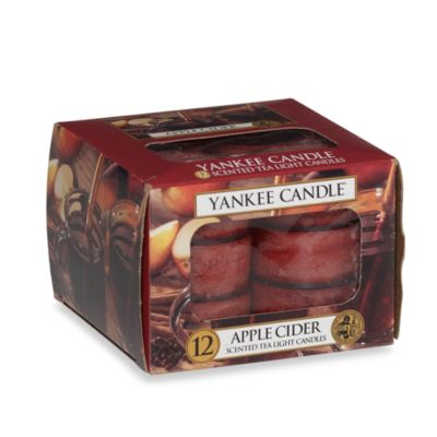 Yankee Candle® Apple Cider Tealights (Set of 12)