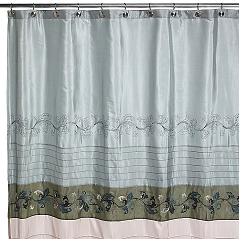 Croscill Plateau Shower Curtain Black Croscill Shower Curtains