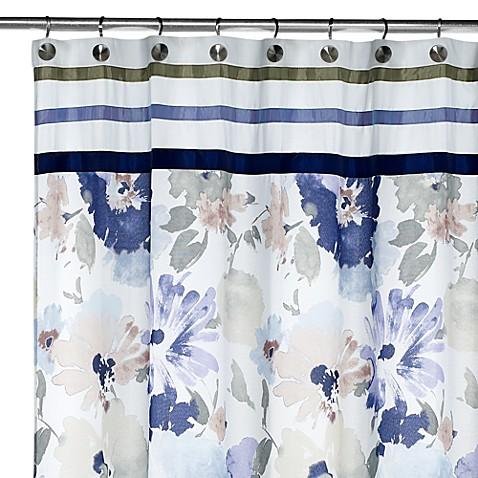 Croscill 174 Watercolor Fabric Shower Curtain Www
