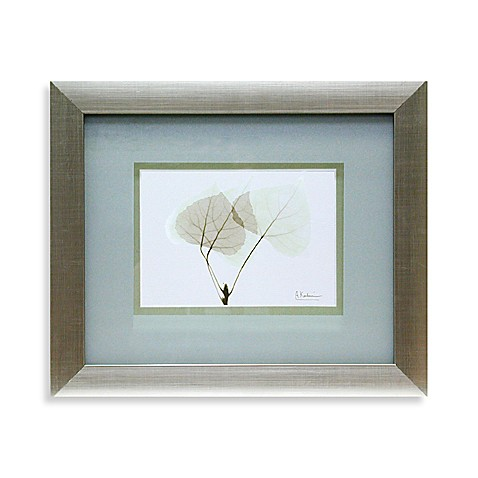 X-Ray Green Floral Wall Art III