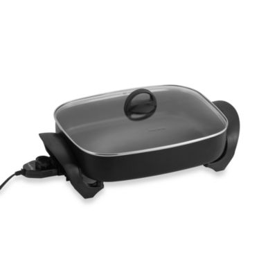 West Bend® Model 72215 Deep Oblong Electric Skillet
