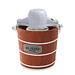 Back to Basics® IC10801 4-Quart Wooden Bucket Ice Cream Maker