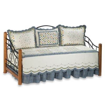 Blue Bedding Daybed