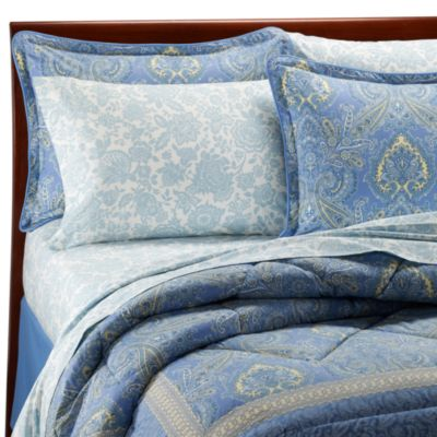 Laura Ashley® Prescot Queen Comforter Set