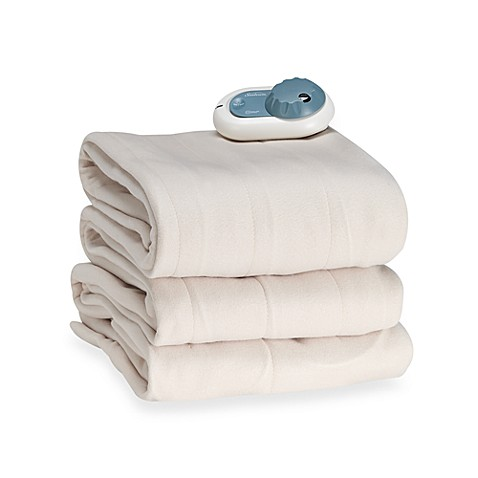 Slumberest By Sunbeam 174 Quilted Fleece Electric Blanket