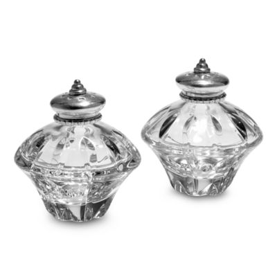 Reed & Barton® Soho Crystal Small Salt and Pepper Set