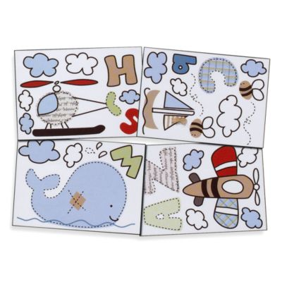 Casey's ABCs by Living Textiles Baby Wall Decals