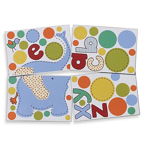 Living Textiles Baby Play Date Wall Decals