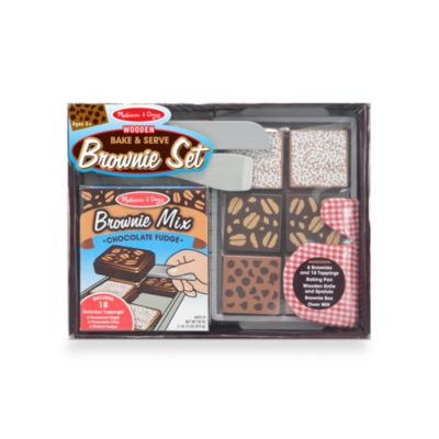 Melissa & Doug® Wood Bake and Serve Brownies