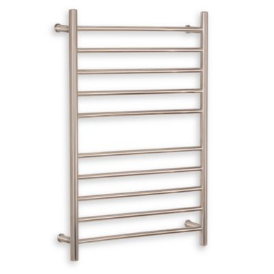 Myson Wall 10-Bar Towel Warmer in Matte Pearl