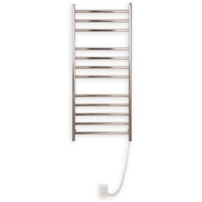 Myson Wall 12-Bar Towel Warmer in Bright Diamond
