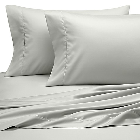 Wamsutta® California King Pearl Sheet Set in Aqua