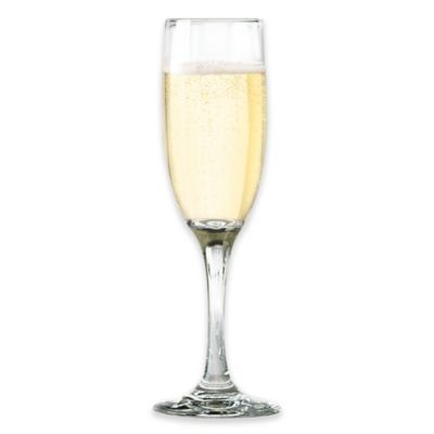 Entertain Stemware 6 1/4-Ounce 6 1/4-Inch Flute (Set of 12)