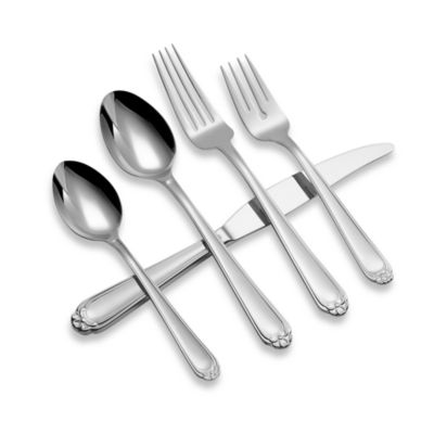 Ginkgo 20-Piece Flatware Set