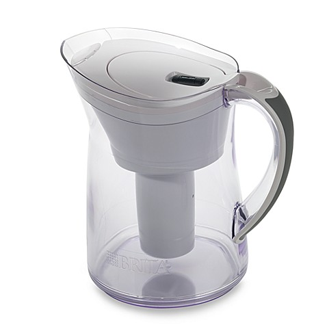 Buy brita bella pitcher from bed bath beyond - Glass filtered water pitcher ...
