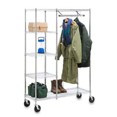 Heavy Duty Urban Valet Closet Storage System